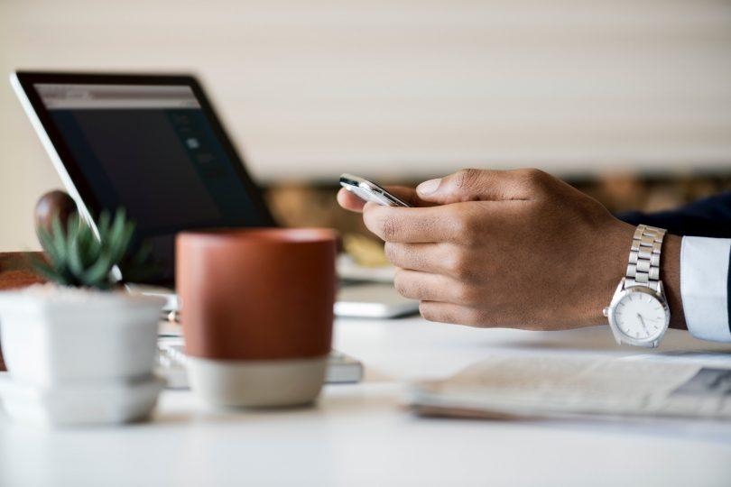 tech watch laptop mug succulent cell