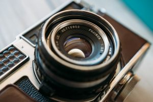 fuji camera lens vintage