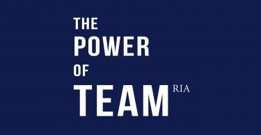 The Power of Team RIA